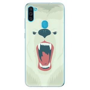 Odolné silikonové pouzdro iSaprio - Angry Bear na mobil Samsung Galaxy M11