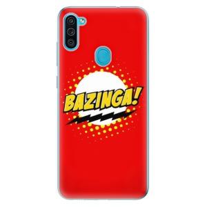 Odolné silikonové pouzdro iSaprio - Bazinga 01 na mobil Samsung Galaxy M11