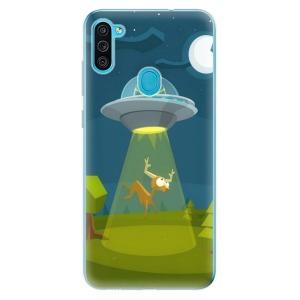 Odolné silikonové pouzdro iSaprio - Alien 01 na mobil Samsung Galaxy M11