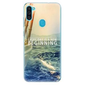 Odolné silikonové pouzdro iSaprio - Beginning na mobil Samsung Galaxy M11