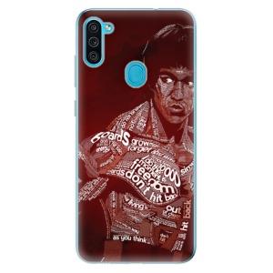 Odolné silikonové pouzdro iSaprio - Bruce Lee na mobil Samsung Galaxy M11