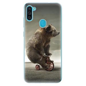 Odolné silikonové pouzdro iSaprio - Bear 01 na mobil Samsung Galaxy M11