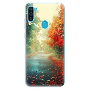 Odolné silikonové pouzdro iSaprio - Autumn 03 na mobil Samsung Galaxy M11