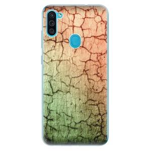 Odolné silikonové pouzdro iSaprio - Cracked Wall 01 na mobil Samsung Galaxy M11