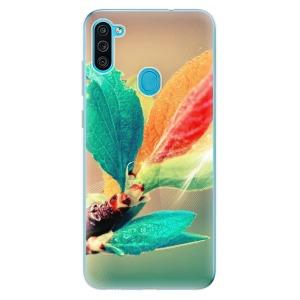 Odolné silikonové pouzdro iSaprio - Autumn 02 na mobil Samsung Galaxy M11