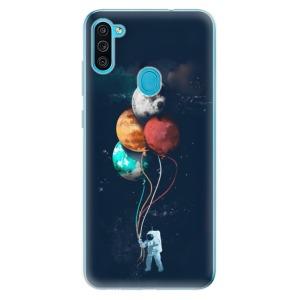 Odolné silikonové pouzdro iSaprio - Balloons 02 na mobil Samsung Galaxy M11