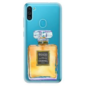 Odolné silikonové pouzdro iSaprio - Chanel Gold na mobil Samsung Galaxy M11