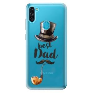 Odolné silikonové pouzdro iSaprio - Best Dad na mobil Samsung Galaxy M11
