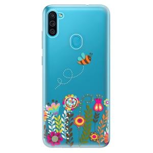 Odolné silikonové pouzdro iSaprio - Bee 01 na mobil Samsung Galaxy M11