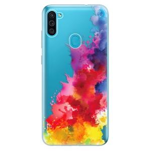 Odolné silikonové pouzdro iSaprio - Color Splash 01 na mobil Samsung Galaxy M11
