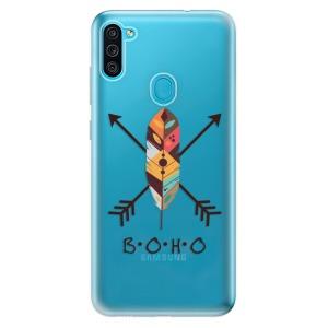 Odolné silikonové pouzdro iSaprio - BOHO na mobil Samsung Galaxy M11