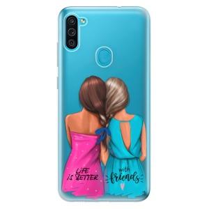 Odolné silikonové pouzdro iSaprio - Best Friends na mobil Samsung Galaxy M11