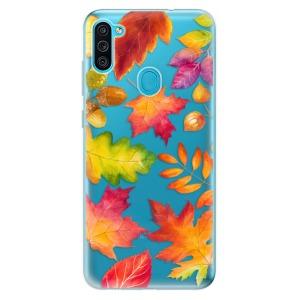 Odolné silikonové pouzdro iSaprio - Autumn Leaves 01 na mobil Samsung Galaxy M11