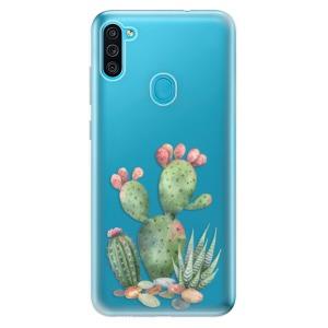 Odolné silikonové pouzdro iSaprio - Cacti 01 na mobil Samsung Galaxy M11