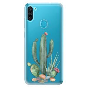 Odolné silikonové pouzdro iSaprio - Cacti 02 na mobil Samsung Galaxy M11