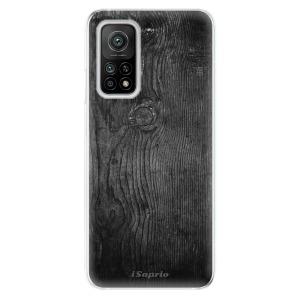 Odolné silikonové pouzdro iSaprio - Black Wood 13 na mobil Xiaomi Mi 10T / Xiaomi Mi 10T Pro