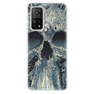 Odolné silikonové pouzdro iSaprio - Abstract Skull na mobil Xiaomi Mi 10T / Xiaomi Mi 10T Pro