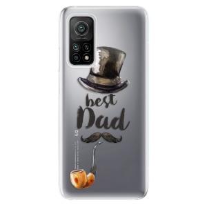 Odolné silikonové pouzdro iSaprio - Best Dad na mobil Xiaomi Mi 10T / Xiaomi Mi 10T Pro