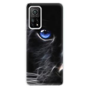 Odolné silikonové pouzdro iSaprio - Black Puma na mobil Xiaomi Mi 10T / Xiaomi Mi 10T Pro - výprodej, rozbaleno