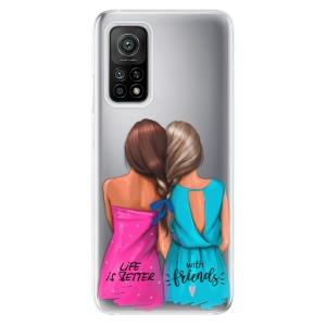 Odolné silikonové pouzdro iSaprio - Best Friends na mobil Xiaomi Mi 10T / Xiaomi Mi 10T Pro