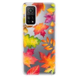Odolné silikonové pouzdro iSaprio - Autumn Leaves 01 na mobil Xiaomi Mi 10T / Xiaomi Mi 10T Pro