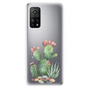 Odolné silikonové pouzdro iSaprio - Cacti 01 na mobil Xiaomi Mi 10T / Xiaomi Mi 10T Pro