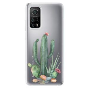 Odolné silikonové pouzdro iSaprio - Cacti 02 na mobil Xiaomi Mi 10T / Xiaomi Mi 10T Pro