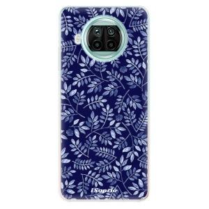 Odolné silikonové pouzdro iSaprio - Blue Leaves 05 na mobil Xiaomi Mi 10T Lite