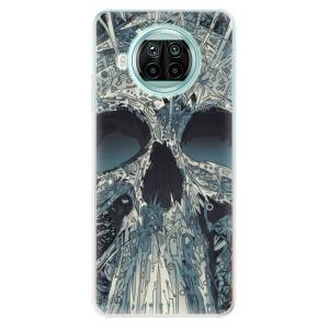 Odolné silikonové pouzdro iSaprio - Abstract Skull na mobil Xiaomi Mi 10T Lite
