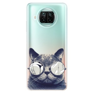 Odolné silikonové pouzdro iSaprio - Crazy Cat 01 na mobil Xiaomi Mi 10T Lite