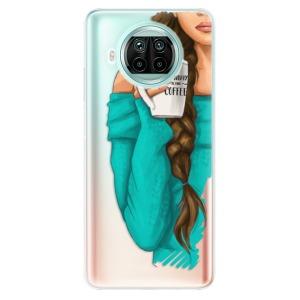 Odolné silikonové pouzdro iSaprio - My Coffe and Brunette Girl na mobil Xiaomi Mi 10T Lite
