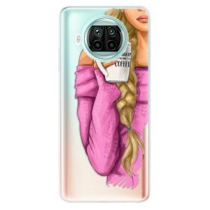 Odolné silikonové pouzdro iSaprio - My Coffe and Blond Girl na mobil Xiaomi Mi 10T Lite