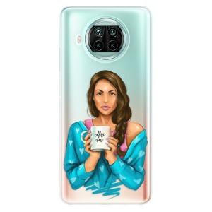 Odolné silikonové pouzdro iSaprio - Coffe Now - Brunette na mobil Xiaomi Mi 10T Lite