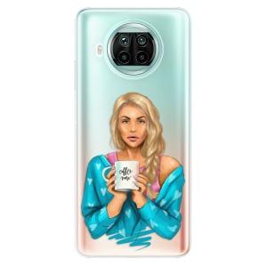 Odolné silikonové pouzdro iSaprio - Coffe Now - Blond na mobil Xiaomi Mi 10T Lite