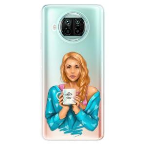 Odolné silikonové pouzdro iSaprio - Coffe Now - Redhead na mobil Xiaomi Mi 10T Lite
