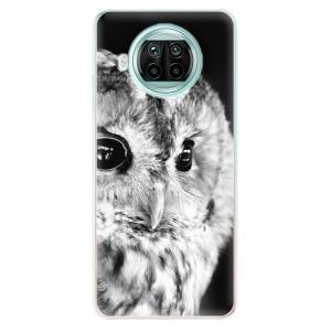 Odolné silikonové pouzdro iSaprio - BW Owl na mobil Xiaomi Mi 10T Lite