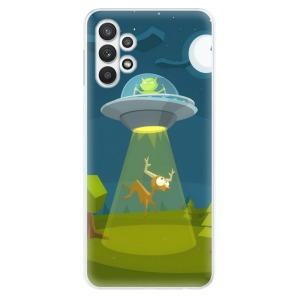 Odolné silikonové pouzdro iSaprio - Alien 01 na mobil Samsung Galaxy A32 5G