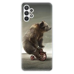 Odolné silikonové pouzdro iSaprio - Bear 01 na mobil Samsung Galaxy A32 5G