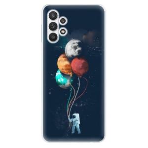 Odolné silikonové pouzdro iSaprio - Balloons 02 na mobil Samsung Galaxy A32 5G