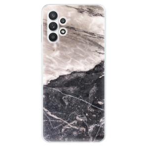 Odolné silikonové pouzdro iSaprio - BW Marble na mobil Samsung Galaxy A32 5G