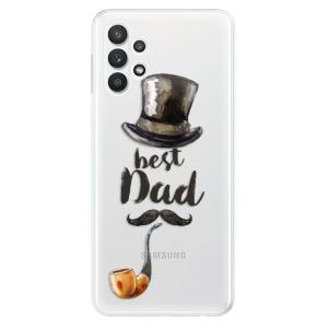 Odolné silikonové pouzdro iSaprio - Best Dad na mobil Samsung Galaxy A32 5G
