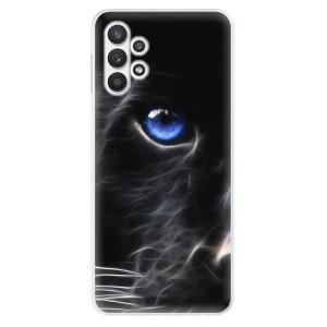Odolné silikonové pouzdro iSaprio - Black Puma na mobil Samsung Galaxy A32 5G