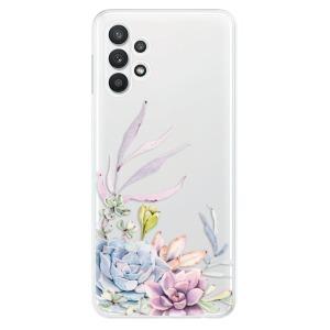 Odolné silikonové pouzdro iSaprio - Succulent 01 na mobil Samsung Galaxy A32 5G - výprodej, rozbaleno