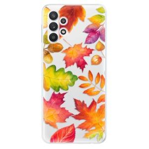 Odolné silikonové pouzdro iSaprio - Autumn Leaves 01 na mobil Samsung Galaxy A32 5G