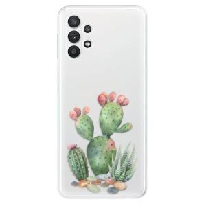 Odolné silikonové pouzdro iSaprio - Cacti 01 na mobil Samsung Galaxy A32 5G
