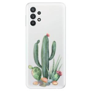Odolné silikonové pouzdro iSaprio - Cacti 02 na mobil Samsung Galaxy A32 5G