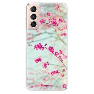 Odolné silikonové pouzdro iSaprio - Blossom 01 na mobil Samsung Galaxy S21 5G