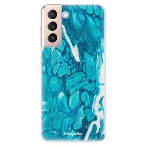 Odolné silikonové pouzdro iSaprio - BlueMarble 15 na mobil Samsung Galaxy S21 5G