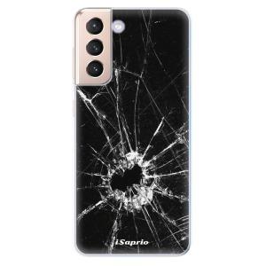 Odolné silikonové pouzdro iSaprio - Broken Glass 10 na mobil Samsung Galaxy S21 5G