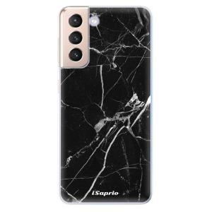 Odolné silikonové pouzdro iSaprio - Black Marble 18 na mobil Samsung Galaxy S21 5G